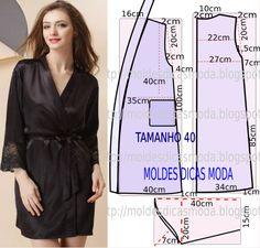 Analise de forma pormenorizada a imagem do robe feminino em cetim. Este processo é fundamental para que o resultado final corresponda ás suas expectativas.