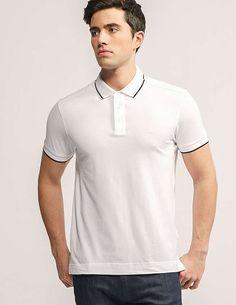 839abb5e white Z Zegna Basic Polo Shirt Polo Shirts, Man Fashion, Ss16, Popsicles,