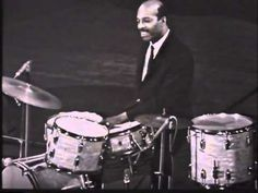"""Philly"" Joe Jones - London 1964.  Every rock and roll drummer should start out learning to play like this."