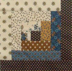 Jo Morton CIVIL WAR 12 Block Log Cabin PRE-CUT Quilt Kit 29x39 Savannah Blue #Jordans