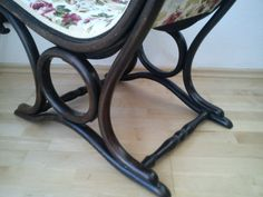 Musealer Sessel No. 1 Thonet sign. ca. 1885 RAR neu gepolstert Chair upholstered
