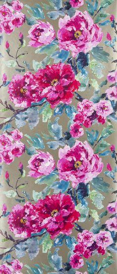 Home Decor Ideas - Flower Wallpaper Photos | Architectural Digest