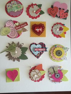 Embellishments by Thepompouscardmaker on Etsy