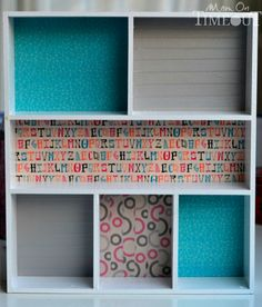 Add a pop of color and organization to those messy drawers with this DIY Drawer Organizer! Small Bedroom Organization, Home Organisation, Book Organization, Craft Room Storage, Household Organization, Diy Drawer Organizer, Drawer Organisers, Drawer Dividers, Galaxy Slime