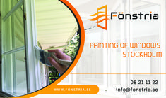 if you are looking best window renovation industry in Stockholm? Then contact fonstria AB. We provide affordable prices of window glass renovation & We offer online service for painting of window. For more info please visits our website:-