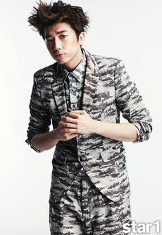 Wooyoung - @Stacy Stone Wilkins Magazine June Issue '13 Jang Wooyoung, Taecyeon, Jay Park, Korean Men, Korean Actors, Korean Idols, Military Looks, Woo Young, Teenage Dream