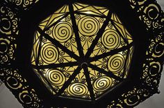 Ornate ironwork around light in Fairmont Peace Hotel in Shanghai. Peace Hotel Shanghai, French Crafts, Iron Furniture, Art Deco Fashion, Art World, Metal Working, Travel Photos, Lighting, Architecture