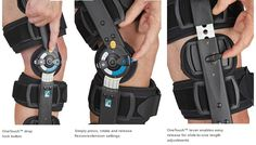 OSSUR Innovator DLX ROM Knee Brace- This brace offers a simple and versatile knee brace for post-operative care. The brace's One Touch system allows for easy adjustment of the ROM, setting the drop lock, and alteration of the brace length.