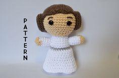 Princess Leia Star Wars Crochet Pattern - Instant PDF Download
