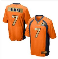 Nike Broncos  7 John Elway Orange Team Color Men s Stitched NFL Game Super  Bowl 50 66a5a2410