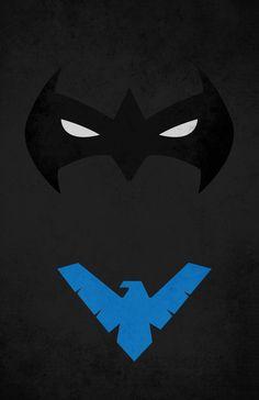 Best Nightwing Symbol I've Seen.   Nightwing   Pinterest ...