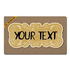 Artsbaba Doormat Personalized Your Text Door Mat Texture Doormats Monogram Non-Slip Doormat Non-woven Fabric Floor Mat Indoor Entrance Rug Decor Mat x * You can find more details by visiting the image link. (This is an affiliate link) Entrance Mats, Doormats, Woven Fabric, Image Link, Monogram, Indoor, Flooring, Rugs, Decor
