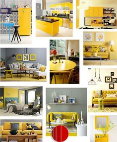 Amarelo pra se inspirar...