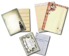The Creative Studio / New Release: 7gypsies Ordre du jour (Order of the day) - journal cards