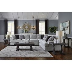 Exceptional small living room designs are offered on our site. Check it out and you will not be sorry you did. Grey Family Rooms, Grey Walls Living Room, Glam Living Room, Small Living Room Design, Living Room Color Schemes, Living Room Grey, Home And Living, Living Room Designs, Living Room Decor