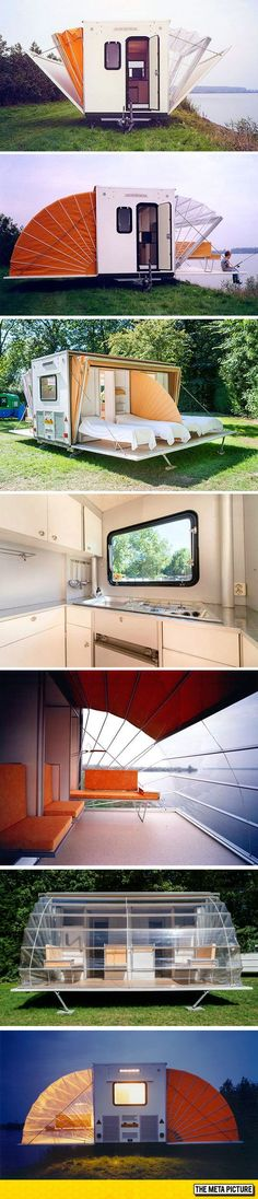 Not A Regular Camper Camping Glamping, Camping Hacks, Outdoor Camping, Lake Camping, Camper Trailers, Rv Campers, Tiny Camper, Car Camper, Mobile Home