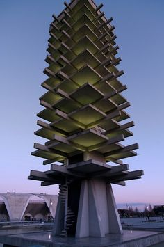 Komazawa Olympic Tower by Kenzo Tange Designed along with a large stadium for the Tokyo Olympics in 1964.