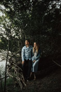 Land & Sea Engagement Session : We're head over heels for this session from Nick Parry of Ontario-based Nautical Studios. Nick managed to fit a forest theme, fields, and boats into an adorable engagement session. His use of light and negative space makes these photos dynamic and intriguing. We're so excited to share these with you!