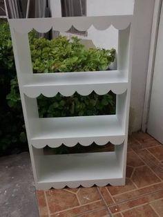 Mueble De Repisas Con Olanes Para Candy Bar - $ 550.00
