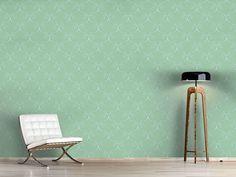 Design #Tapete Schnörkel Romanze