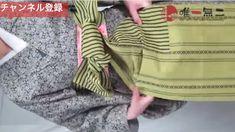 帯揚げ、帯締め、枕さえも使わない!半幅感覚で結べる名古屋帯 Blanket, Blankets, Cover, Comforters