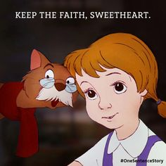 The movie that inspired me to Have faith in my most beautiful Dreams❤Will always be my #1 Fav.Disney Classic