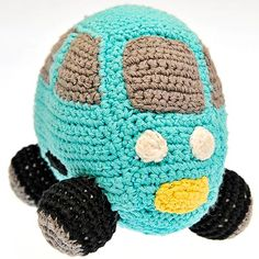 Car coming through!A hand crocheted Blue Car rattle expertly engineered by the ladies of Hathay Bunano in Dhaka, Bangladesh. Hand Crochet, Crochet Hats, Dhaka Bangladesh, Vroom Vroom, Fair Trade, Baby Toys, Babyshower, Birth, Fill