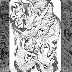 25 trendy tattoo dragon full back tat Dragon Tattoo Drawing, Asian Dragon Tattoo, Dragon Sleeve Tattoos, Japanese Dragon Tattoos, Japanese Tattoo Art, Japanese Sleeve Tattoos, Dragon Tattoo Full Back, Dragon Tattoo Flash, Samurai Tattoo Sleeve