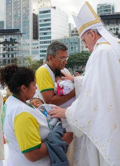 """""""Defense of unborn life is closely linked to the defense of each and every other human right,"""" Pope Francis wrote ..."""