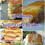 10-Minute Sandwich Recipes #best recipe to try