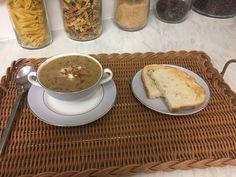 Mushroom soup. Yummy!
