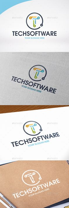 Technology Letter T Logo Template by BossTwinsMusic - Three color version: color, greyscale and single color.- The logo is resizable.- You can change text and colors very easy u Letter T, Letter Logo, Lettering Design, Logo Design, Graphic Design, Internet Logo, Internet Marketing, Three Logo, Logo Samples