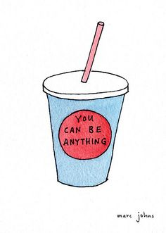 goldenspine: #you-can-be anything by Marc Johns on Flickr. Repinned by #www.paradigmmalibu.com #followback