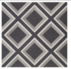 Floor tiles. Love the tones and lines.