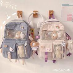 Girly Backpacks, Cute Mini Backpacks, Shoulder Backpack, Shoulder Bag, Aesthetic Backpack, Kawaii Room, Cute School Supplies, Accesorios Casual, Oui Oui