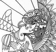 Gabriel & The Angel. By Guilherme Pilla. 2004.