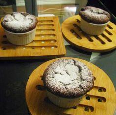 Geoffrey Zakarian's Chocolate Souffles