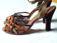 vintage 1940s ankle strap shoes  | eBay