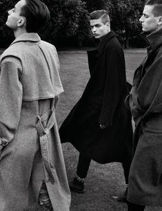 Sharpish Overcoat Brigade. The huge overcoat, in desperate need of a comeback.