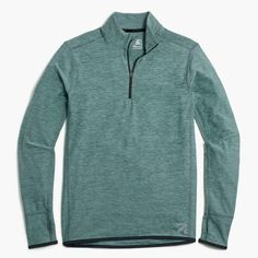 New Balance® for J.Crew half-zip pullover