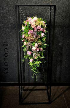 ポカポカ の画像 神戸の花屋カラーズ 隊長 國安のブログ Funeral Flower Arrangements, Funeral Flowers, Floral Arrangements, Wedding Flowers, Container Plants, Container Gardening, Bouquet Wrap, Floral Ribbon, Paludarium