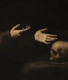 Detail of Vision of Saint Francis of Assisi, Jusepe de Ribera, 1638.