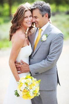 summer wedding- grey and yellow....??