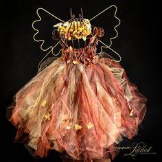 Fall Enchanted FairyWare, Dress , Photography, Wedding, Birthday, Halloween, Just for Fun via Etsy