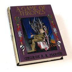 Game of Thrones: Kinglsayer edition - hideaway book box - unique and hand-decorated by RFabiano on Weebly