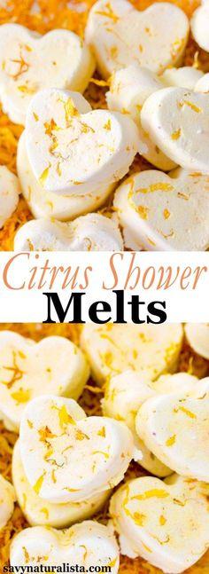 Citrus Shower Bombs (Melts)