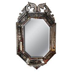 Antique Venitian Mirror 1