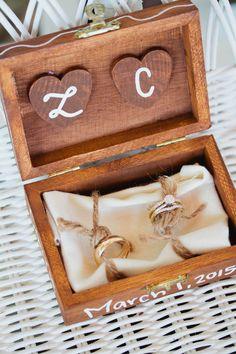 DIY ring bearer box                                                                                                                                                     More