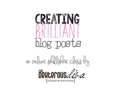 Creating Brilliant Blog Posts - Class Feed - Skillshare