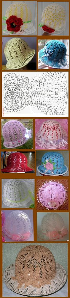 New crochet baby bonnet diagram hat patterns Ideas Crochet Lace Scarf, Crochet Baby Bonnet, Crochet Cap, Crochet Diagram, Crochet Beanie, Diy Crochet, Crochet Crafts, Crochet Projects, Knitted Hats